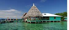 Bocas del Toro türkisfarbenem Wasser