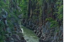 La Angostura Canyon in La Pintada