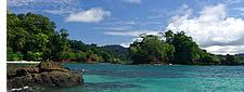 Playa Hermosa in der Provinz Chiriqui