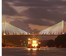 Centenario pont, le deuxième pont sur le Canal de Panama
