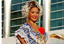La Pollera, Panama du costume traditionnel
